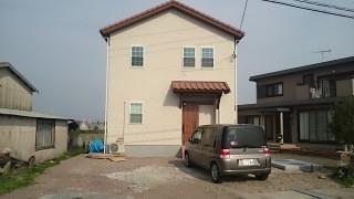 豊前市のT邸の新築外構工事をしました