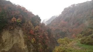 九重町の九酔渓の紅葉を紹介します