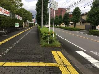 街路の除草作業をやっています